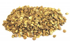 Dried lentil sprouts