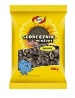 Black salted sunflower seed